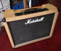 "1987 Marshall model 2187 JMP 2x12"" 50 watt combo amp in rare fawn color - $1,800"