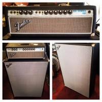 1968 Fender Dual Showman w/ 2x15 cab - $995