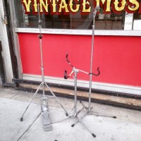 Vintage Ludwig cymbal stands. $75 each
