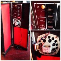 1960s Silvertone 1448 amp-in-case - $250