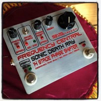 "Frequency Central ""Sonic Death Ray"" 14 Stage Phase Shifter pedal - $350"