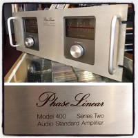 Late 1970's Phase Linear 400 stereo power amp. 210 watts a channel - $450