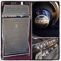1967 Vox v1141 Super Beetle w/footswitch - $2,995