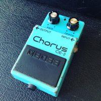 1980's Boss CE-2 chorus pedal MIJ - $195