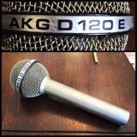 Vintage AKG D120E dynamic mic - $149