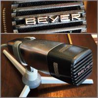 Vintage Beyer M80 dynamic mic w/stand - $100