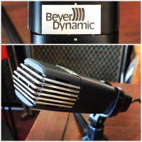 Vintage Beyer M81 dynamic mic w/stand - $100