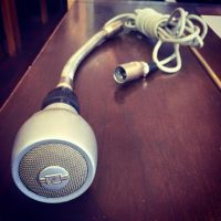Sennheiser MD42 vintage dynamic microphone - $149