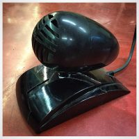 1940s Ducati Bakelite dynamic mic w/XLR cable - $250