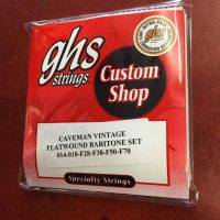 GHS Baritone Flatwound bass strings set - $18