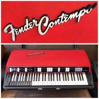 Late 1960's Fender Contempo combo organ w/lid - $1,395