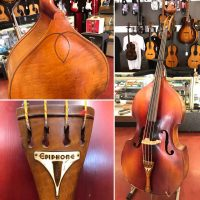 1947 Epiphone B-4 3/4 size bass w/stand & bow - $2,500