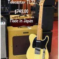 1993 Fender Telecaster TL72 - $749