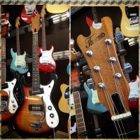 70's Thomas Mosrite style guitar MIJ - $525