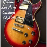 1976 Gibson Les Paul Custom - $2,895