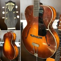 1939 Gretsch Model 50 archtop acoustic - $795