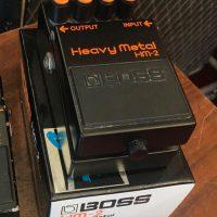 1988 Boss HM-2 Heavy Metal w/box - $100.