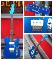 Rusty Hot Caveman Special w/ Seymour Duncan Antiquity Jazzmaster pickups w/HSC - $995