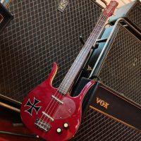 Danelectro Long Horn bass w/tweed hard case - $375