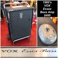 1960s Vox Essex bass amp - $495