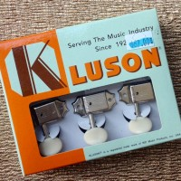 Kluson 3-on-side tuners $67