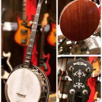 Deering Sierra 5-string banjo w/hsc - $1,100