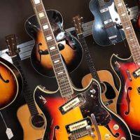 1960's Kent 820 guitar w/gig bag - $595