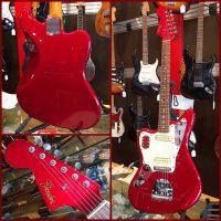 2002-'04 Fender Jaguar lefty w/gig bag - $995 Crafted in Japan