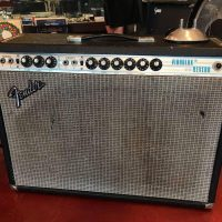1957 Fender Vibrolux Reverb w/switch foot - $1,250 (One speaker replaced)
