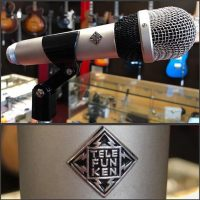 Telefunken M611 dynamic mic w/clip and case - $235