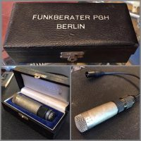 Funkberater PGH Berlin MD30-2 dynamic mic w/cable and case - $175