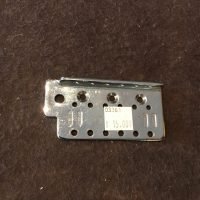 Bridge plate for Strat style guitar - $15