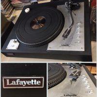 Lafayette T-6000 turntable - $350