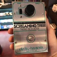 1970's Electro-Harmonix Screaming Tree treble booster - $90
