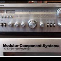 MCS (Modular Component System) 3233 stereo receiver - $225