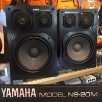 Yamaha NS-20M speakers for hi-if or studio use - $395