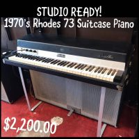 Mid 1970s Rhodes Suitcase 73 piano - $2,200