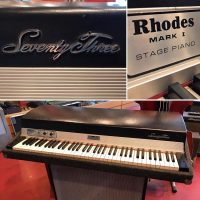 1975 Rhodes 73 Stage Piano w/lid $1,295 (legs & sustain pedal not included)