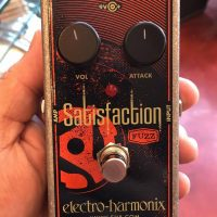 Electro-Harmonix Satisfaction fuzz - $45