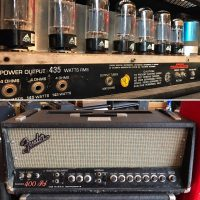 1971 Fender 400 PS bass amp head - $1,195