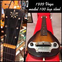 1939 Vega model 100 lap steel w/orig case & volume pedal - $600