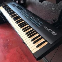 Mid 1990's Roland JV-90 synth w/case - $400
