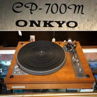 Onkyo CP-700M turntable - $200