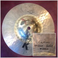"Zildjian 9"" K Custom Hybrid Splash - $85"