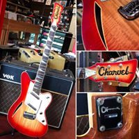 1990's Charvel Surfcaster w/ OHSC - $1,495