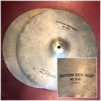 "Zildjian 14"" New Beat Hi-Hats (pair) - $125"