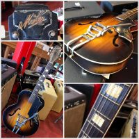1950's Gretsch New Yorker re-branded as a Maton 210 model - $295