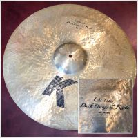"Zildjian K Custom 21"" Dark Complex Ride - $195"