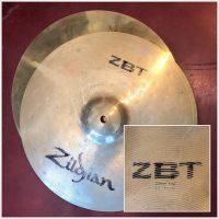"Zildjian 13"" ZBT Hi-Hats (pair) - $50"