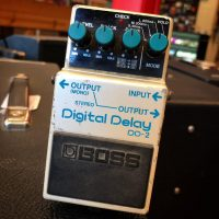 1986 Boss DD-2 Digital Delay MIJ - $120